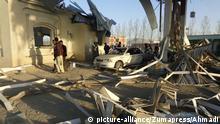 Mit Autobomben sprengten sich die Taliban den Weg frei