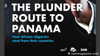 Screenshot pdf The Plunder Route to Panama (zammagazine.com)