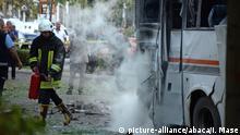 Türkei Mersin Bombenanschlag auf Bus