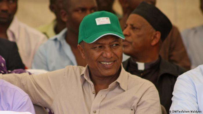 Äthiopien Regierungsvertreter (DW/Tesfalem Waldyes)
