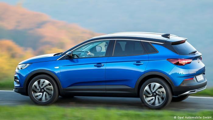 Opel GrandlandX 2017 (Opel Automobile GmbH)