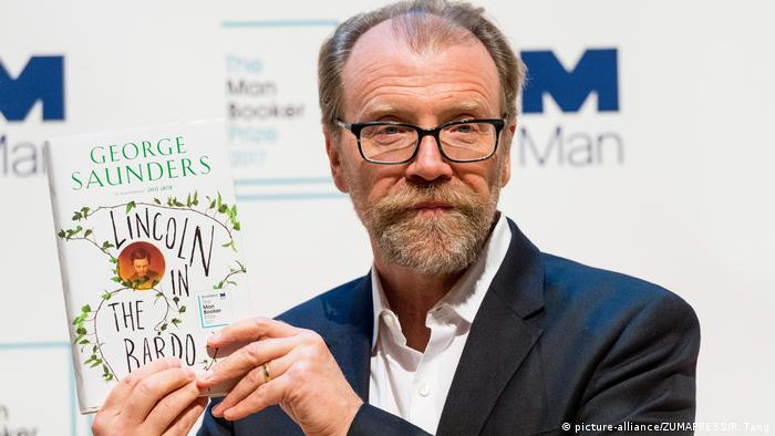 Author George Saunders (picture-alliance/ZUMAPRESS/R. Tang)