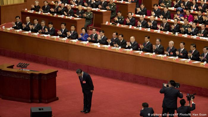 China Peking Kommunistischer Parteitag Xi Jinping
