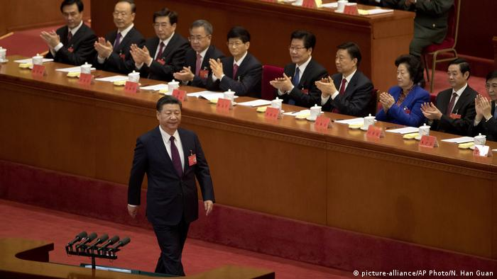 China Peking Kommunistischer Parteitag Xi Jinping (picture-alliance/AP Photo/N. Han Guan)