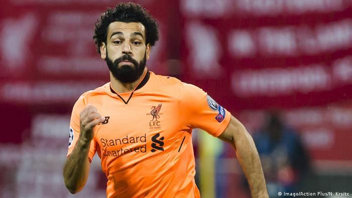 Fußball UEFA Champions League NK Maribor - Liverpool Mohamed Salah (Imago/Action Plus/N. Krsitc)