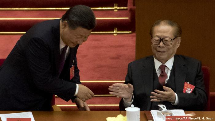 China Peking Kommunistischer Parteitag Xi Jinping (picture-alliance/AP Photo/N. H. Guan)