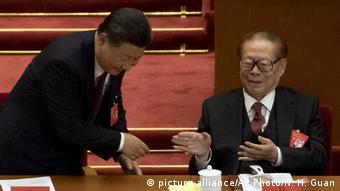 China Peking Kommunistischer Parteitag Xi Jinping (picture-alliance/AP Photo/N. H. Guan)