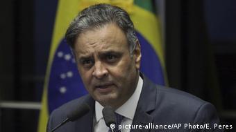 Brasilien Senatssitzung zu Aécio Neves in Brasilia | Aecio Neves (picture-alliance/AP Photo/E. Peres)