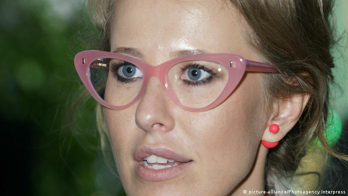 Ksenia Sobchak russische TV Moderatorin (picture-alliance/Photoagency Interpress)
