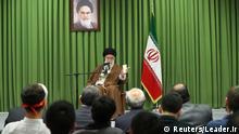 Iran Ayatollah Ali Khamenei, Oberster Religionsführer   Gespräch mit Studenten