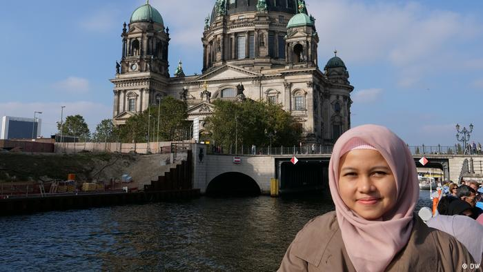Studienreise Goethe Insitut Life of Muslims in Germany Juwita Trisna Rahayu (DW)