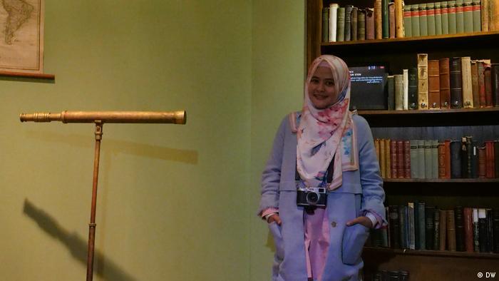 Studienreise Goethe Insitut Life of Muslims in Germany Nati Sajidah Jalaluddin (DW)