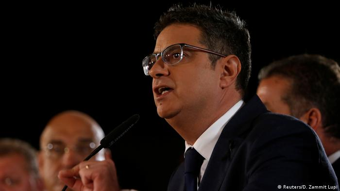 Malta Adrian Delia, Opposition