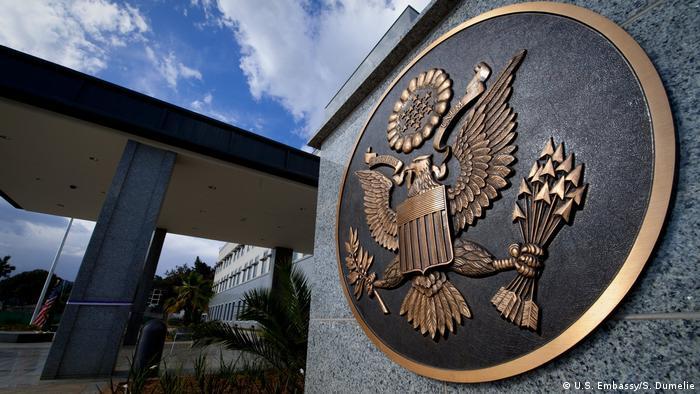 Äthiopien US Botschaft in Addis Abeba