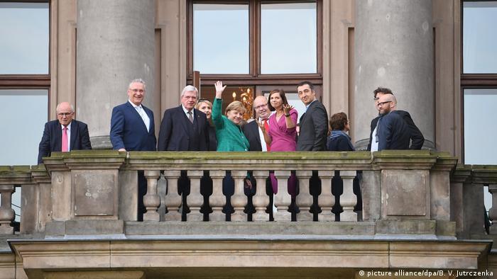 Deutschland Jamaika-Sondierungen zwischen CDU und Grüne starten (picture alliance/dpa/B. V. Jutrczenka)