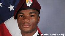US Soldat La David Johnson starb am 4. Oktober 2017