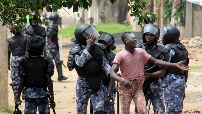 Togo Protest gegen die Regierung
