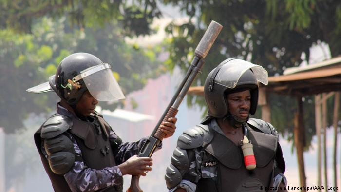 Security forces in Togo