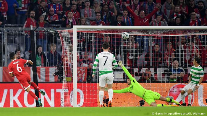 Fußball: Champions League FC Bayern München - Celtic Glasgow (Getty Images/Bongarts/S. Widmann)