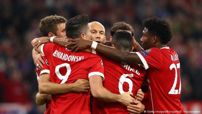 Champions League Rejuvenated Bayern Munich Put Celtic To The Sword Sports German Football And Major International Sports News Dw 18 10 2017