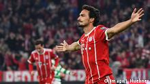 Fußball Champions League FC Bayern München - Celtic Glasgow