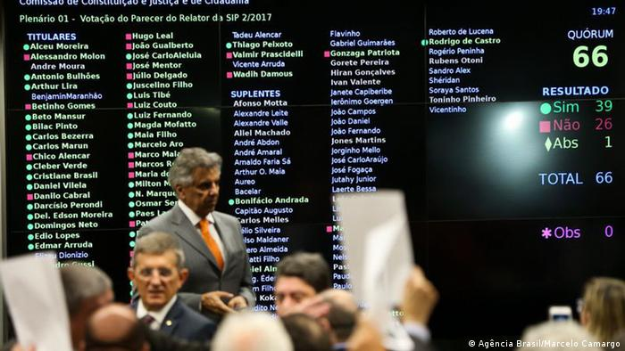 Brasilien Abgeordnetenhaus (Agência Brasil/Marcelo Camargo)