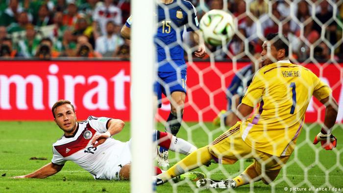WM-Finale- Tor Mario Götze (picture alliance / dpa)