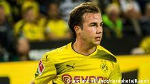 Fußball Bundesliga- Borussia Dortmund - RB Leipzig- Mario Götze