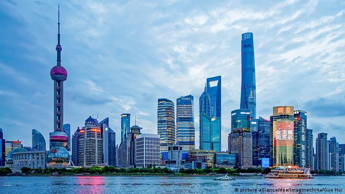 China Skyline von Shanghai (picture-alliance/dpa/Imaginechina/Guo Hui)