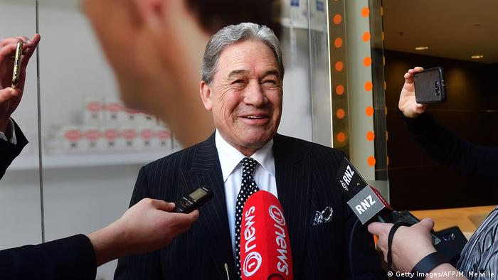 Neuseeland PK Winston Peters (Getty Images/AFP/M. Melville)