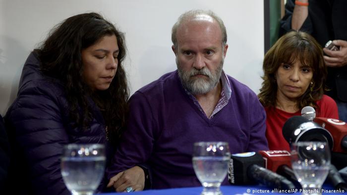 Sergio Maldonado, hermano de Santiago, en rueda de prensa