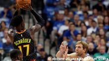 USA Basketball NBADallas Mavericks - Atlanta Hawks (picture-alliance/dpa/AP/Lm Otero)