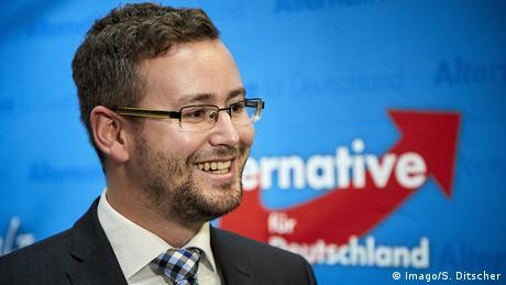 Sebastian Münzenmaier der AfD Rheinland-Pfalz (Imago/S. Ditscher)