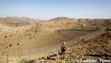 Grenzzaun zwischen Afghanistan und Pakistan