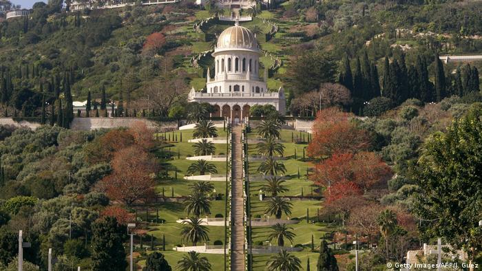 Bildergalerie Bahai Golden Shrine of Bab in Haifa Israel