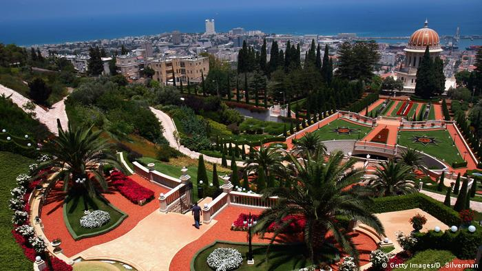 Bildergalerie Bahai World Centre in Haifa Israel (Getty Images/D. Silverman)