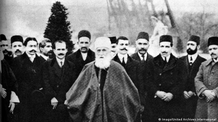 Bildergalerie Bahai Abdul-Baha Gründer der Bewegung (Imago/United Archives International)