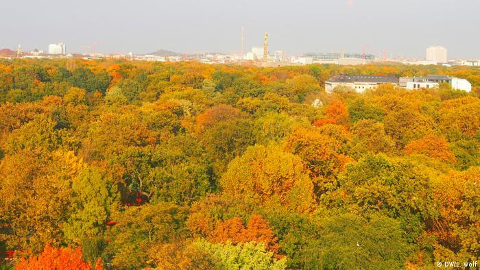 Берлін. Парк Великий Тіргартен