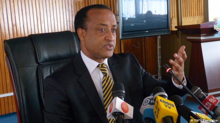 Äthiopien Außenministerium Meles Alem