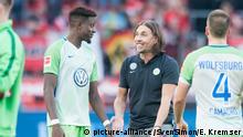 Fußball 1. Bundesliga/ Bayer 04 Leverkusen - VfL Wolfsburg 2:2