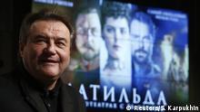 Russian film director Alexei Uchitel reacts before the press screening of the movie Matilda in Moscow, Russia October 11, 2017. REUTERS/Sergei Karpukhin