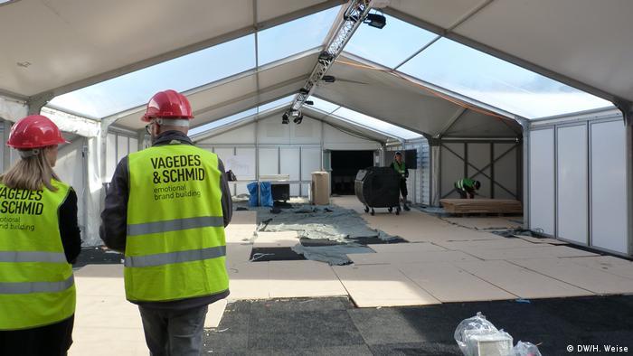 Deutschland Baustelle Klimakonferenz COP23 in Bonn