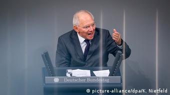 Wolfgang Schäuble CDU (picture-alliance/dpa/K. Nietfeld)