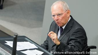 Wolfgang Schäuble CDU (picture-alliance/dpa/S.Gollnow)