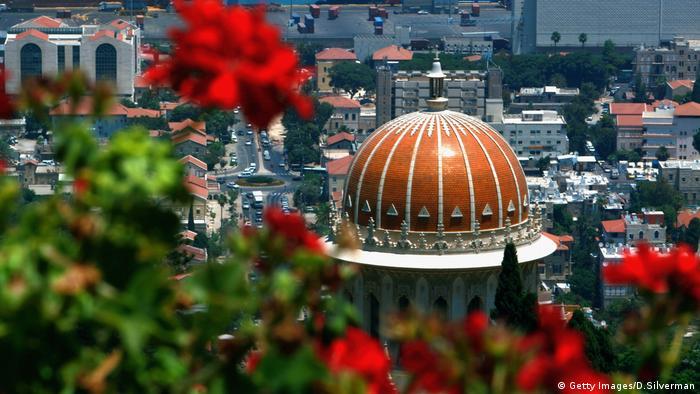 Bahai Gärten Tempel Haifa