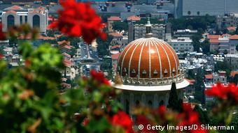 Bahai Gärten Tempel Haifa (Getty Images/D.Silverman)