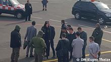 Ukraine Kiew Festnahme des Parlamentsabgeordneten Boryslav Rosenblat am Flughafen