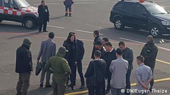 Співробітники НАБУ зняли Розенблата прямо з літака на Кельн. Жовтень 2017 року. Депутат намагався виїхати до Німеччини за дипломатичним паспортом