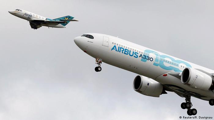 Toulouse Airbus A330neo neuer Langstreckenflieger (Reuters/R. Duvignau)