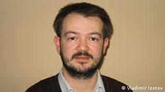 Maksim Timofejev russischer Experte und Menschenrechtler Sankt Petersburg